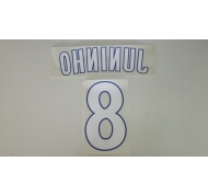Juninho 8 Lyon away